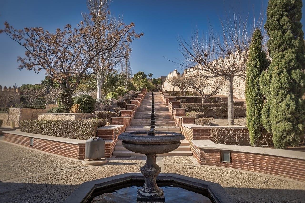Alcazaba Almería Fortaleza España