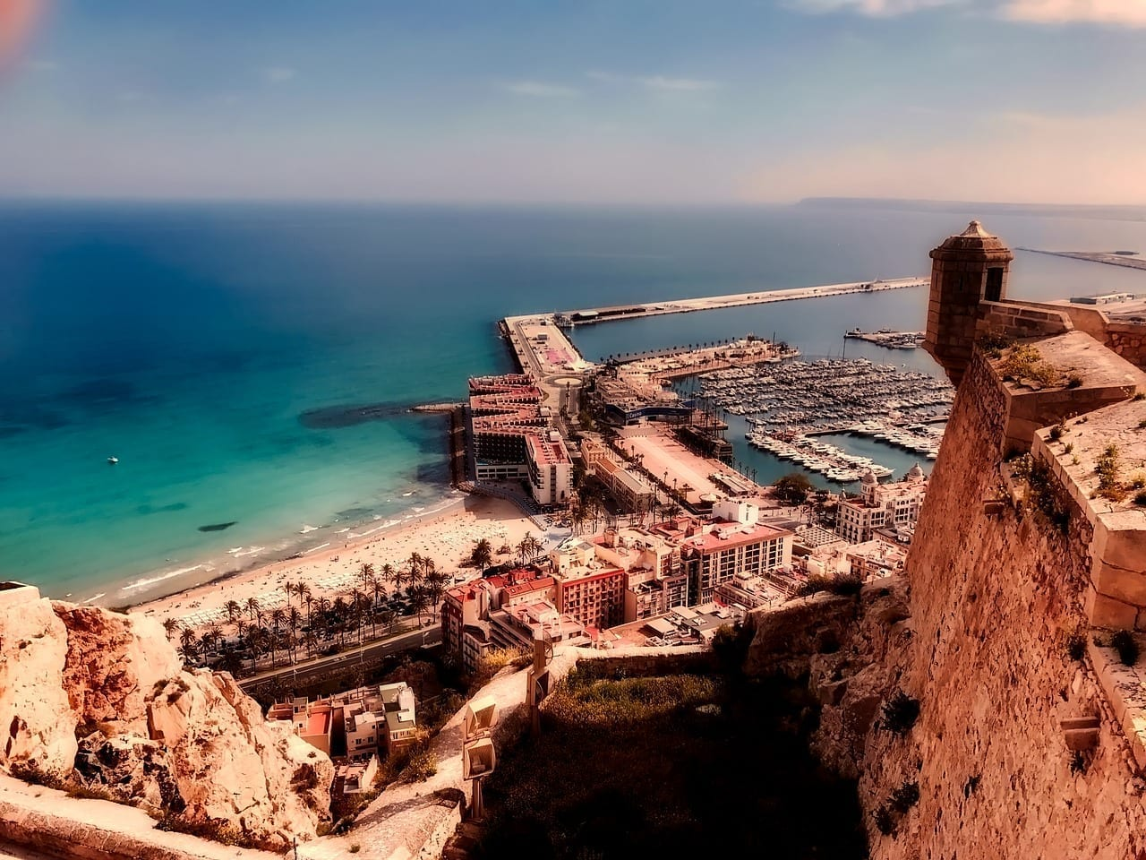Alicante España Mar España