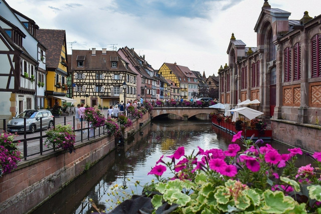 Alsacia Colmar Turismo Francia