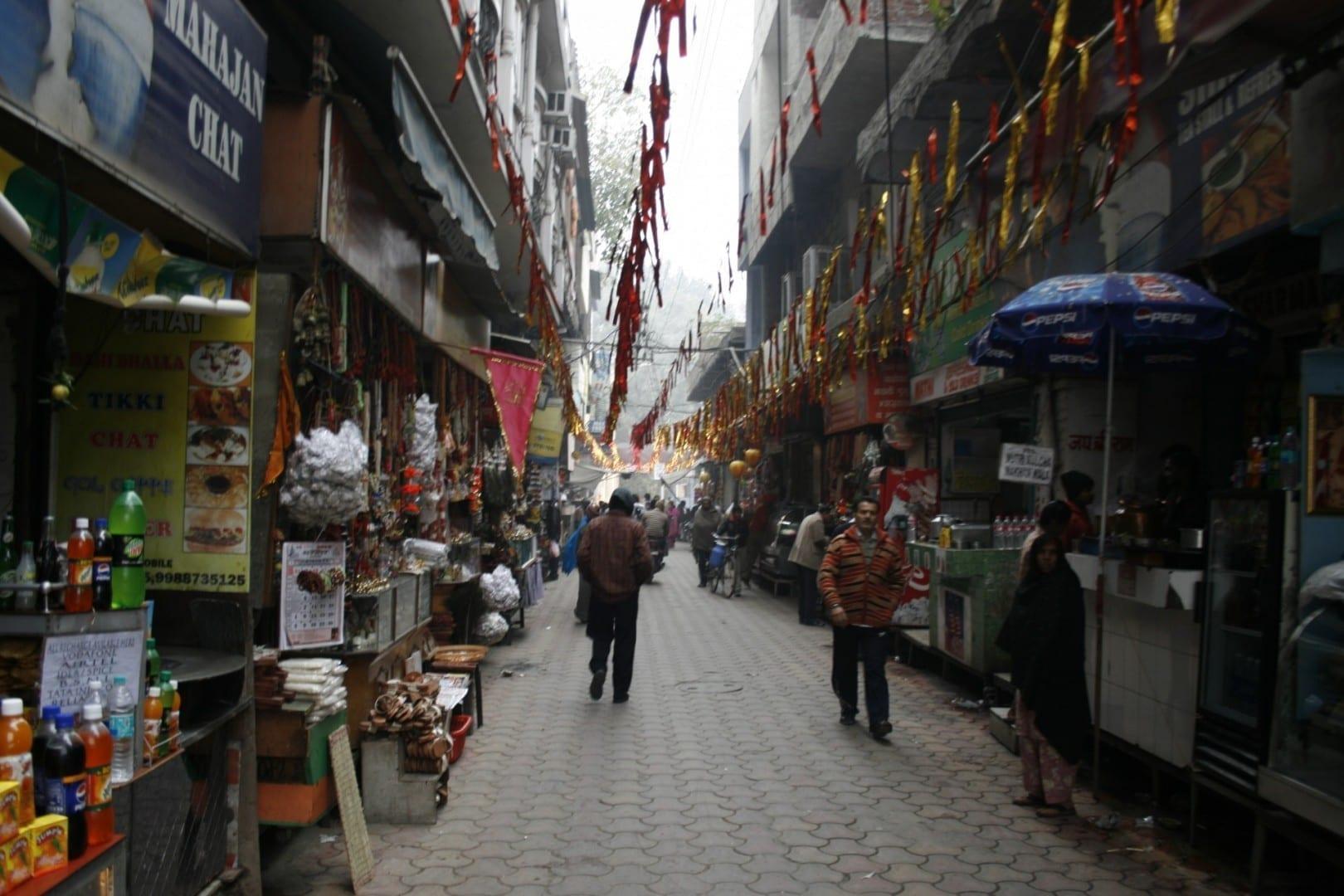 Amritsar, Calle comercial Amritsar India