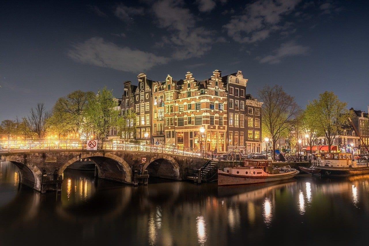Amsterdam Puente Países Bajos Países Bajos
