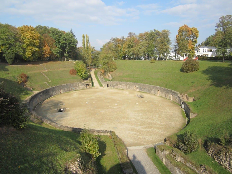 Anfiteatro romano Tréveris Alemania