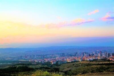 Ankara Turquía Ciudad Turquía