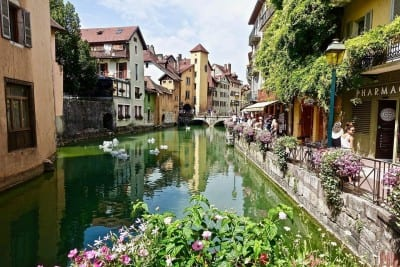 Annecy Arquitectura El Turismo Francia