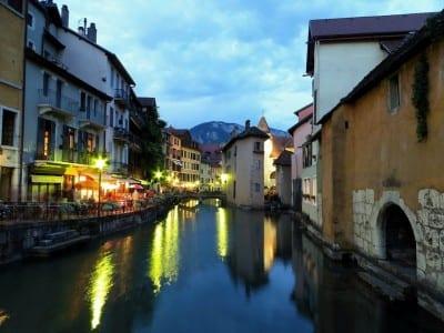 Annecy Canal Francia Francia