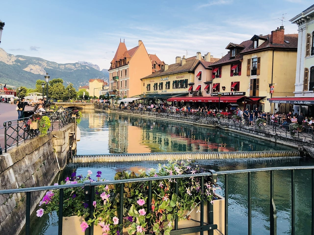 Annecy Francia Calma Francia