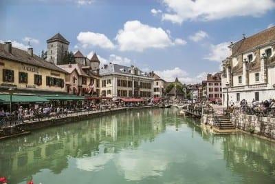 Annecy Francia Ciudad Francia