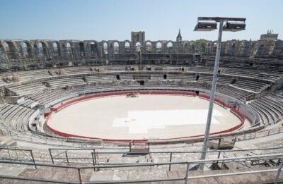 Arena Romano Arles Francia
