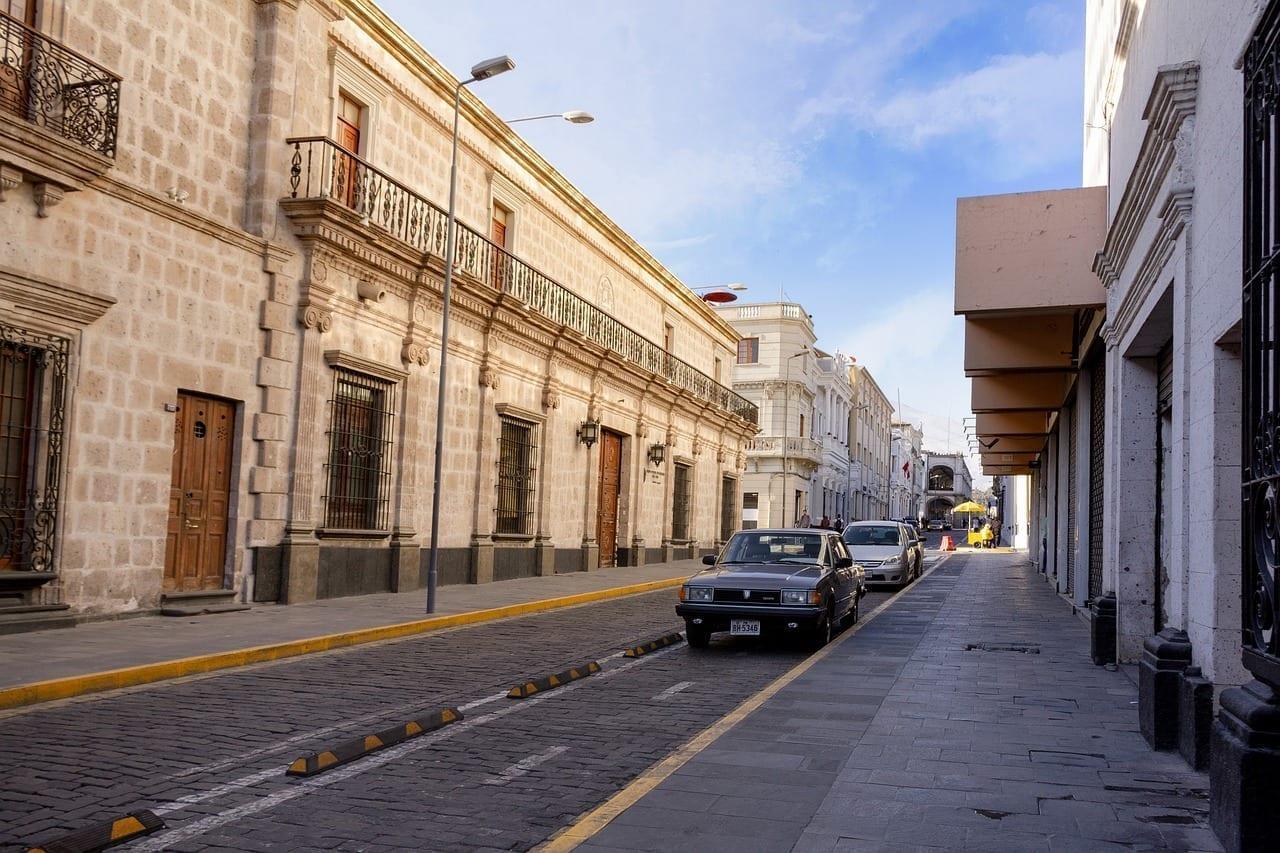 Arequipa Ciudad Calle Perú