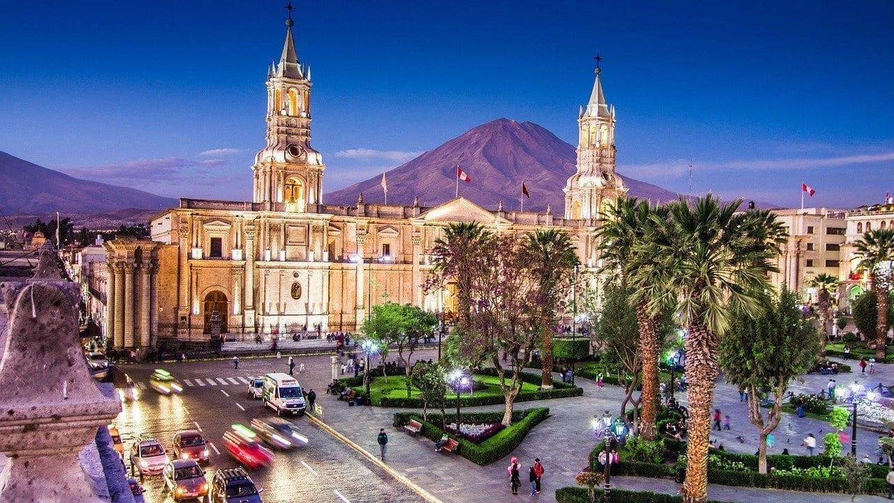 Arequipa Perú De Viaje Perú