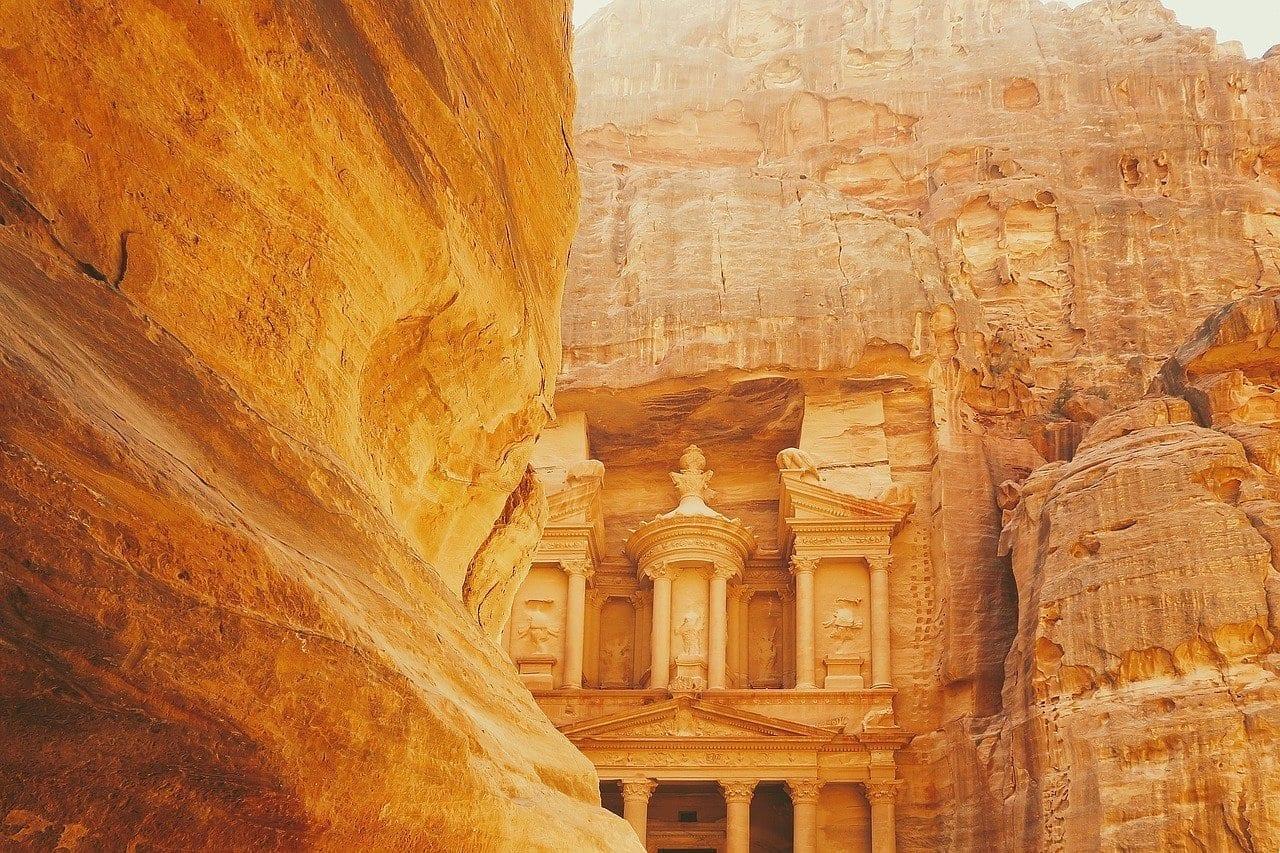 Arqueológico Ciudad Petra Jordania