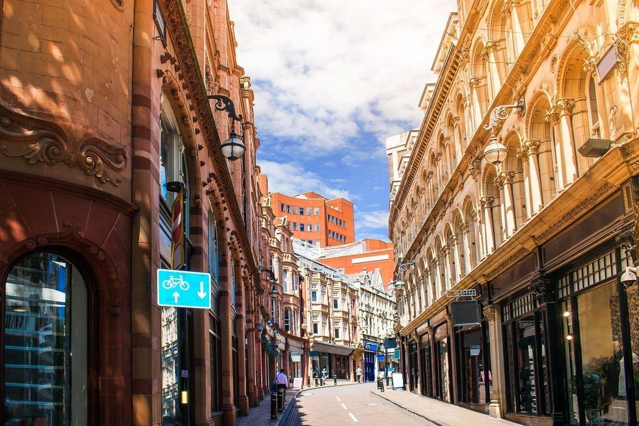 Arquitectura Birmingham Borrosa Reino Unido