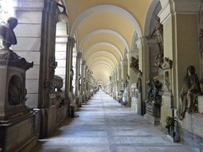 Arquitectura Cementerio Monumental De Génova Génova Italia