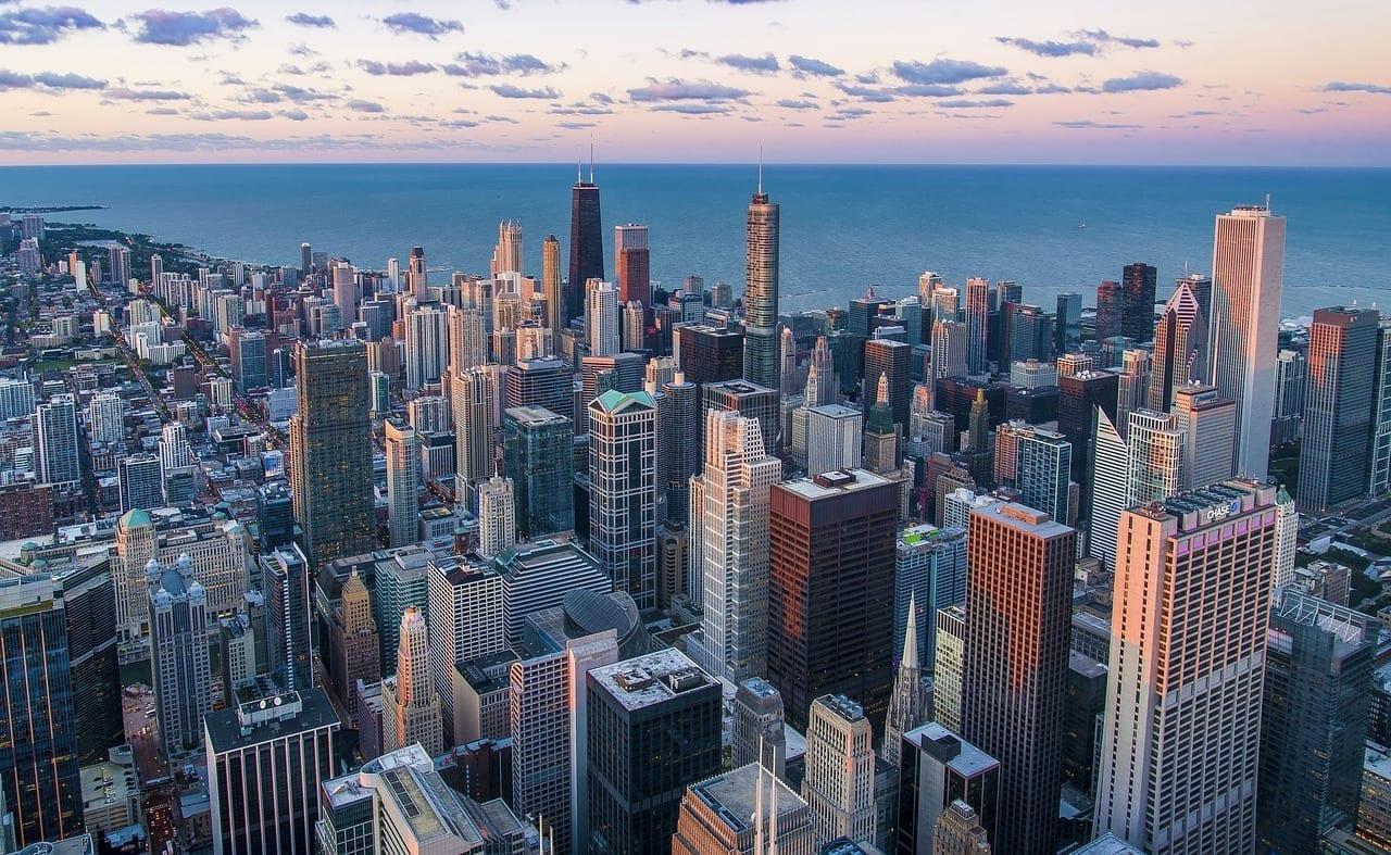 Arquitectura Chicago Edificios Estados Unidos