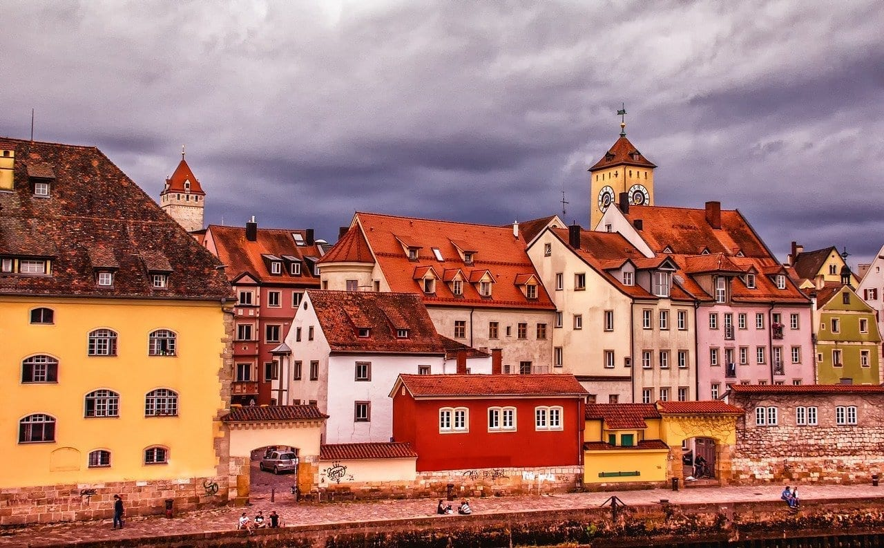 Arquitectura De Viaje Regensburg Alemania