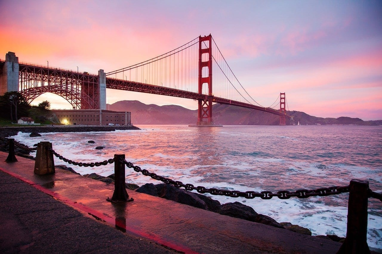 Arquitectura Puente Golden Gate San Francisco Estados Unidos