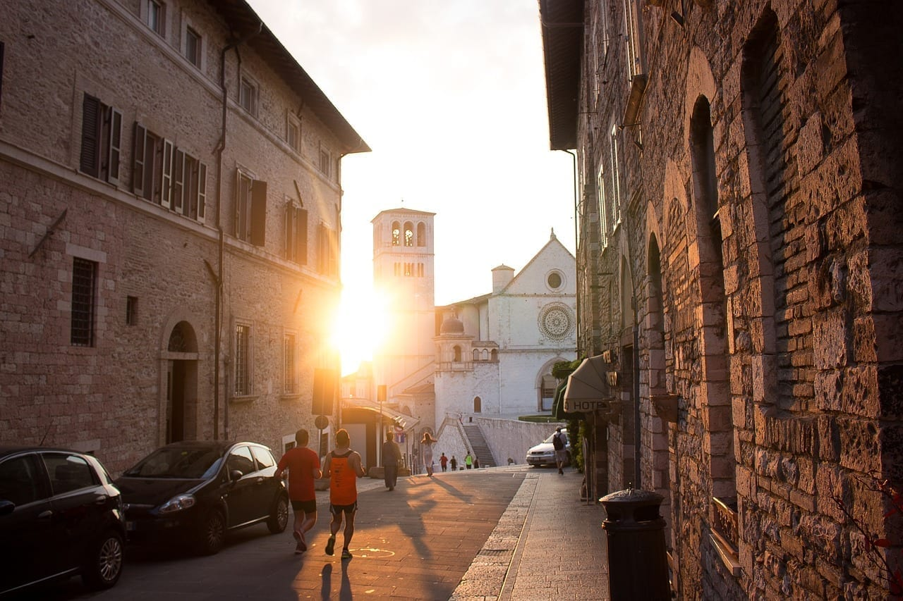 Asís Ciudad Italia Italia