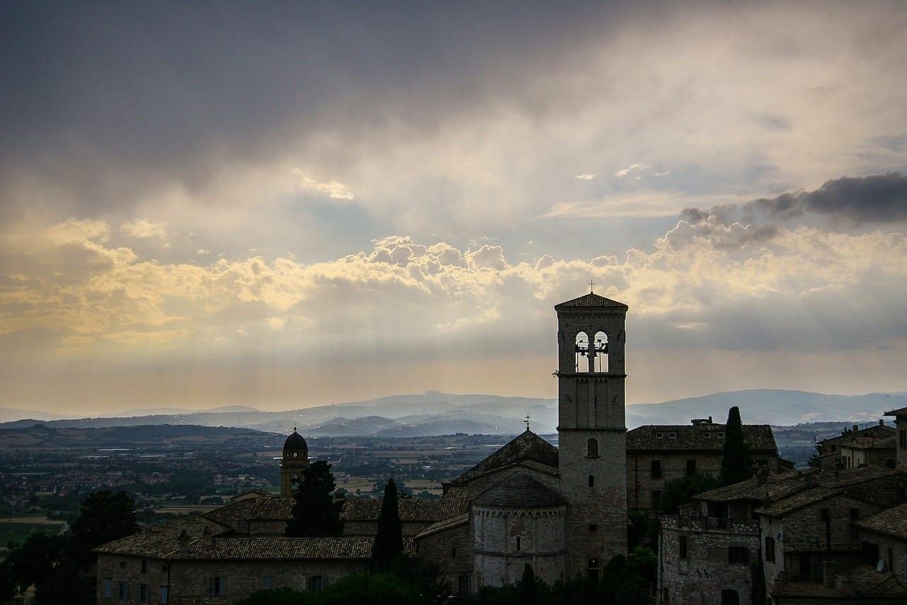 Asís Italia Iglesia Italia
