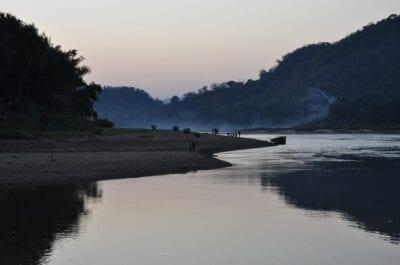 Asia Río Mekong Luang Prabang República Democrática Popular Lao