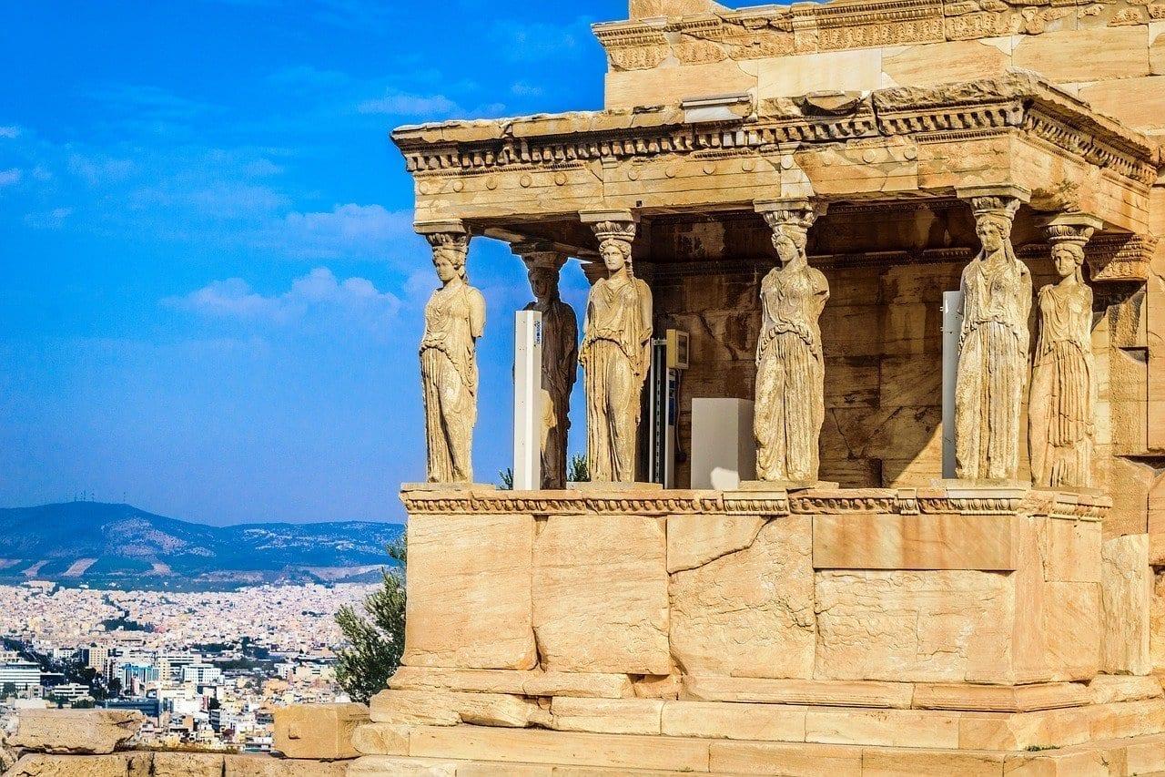 Atenas Cariátide Grecia Grecia