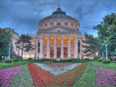 Ateneul Român (El Ateneo Rumano) Bucarest Rumania