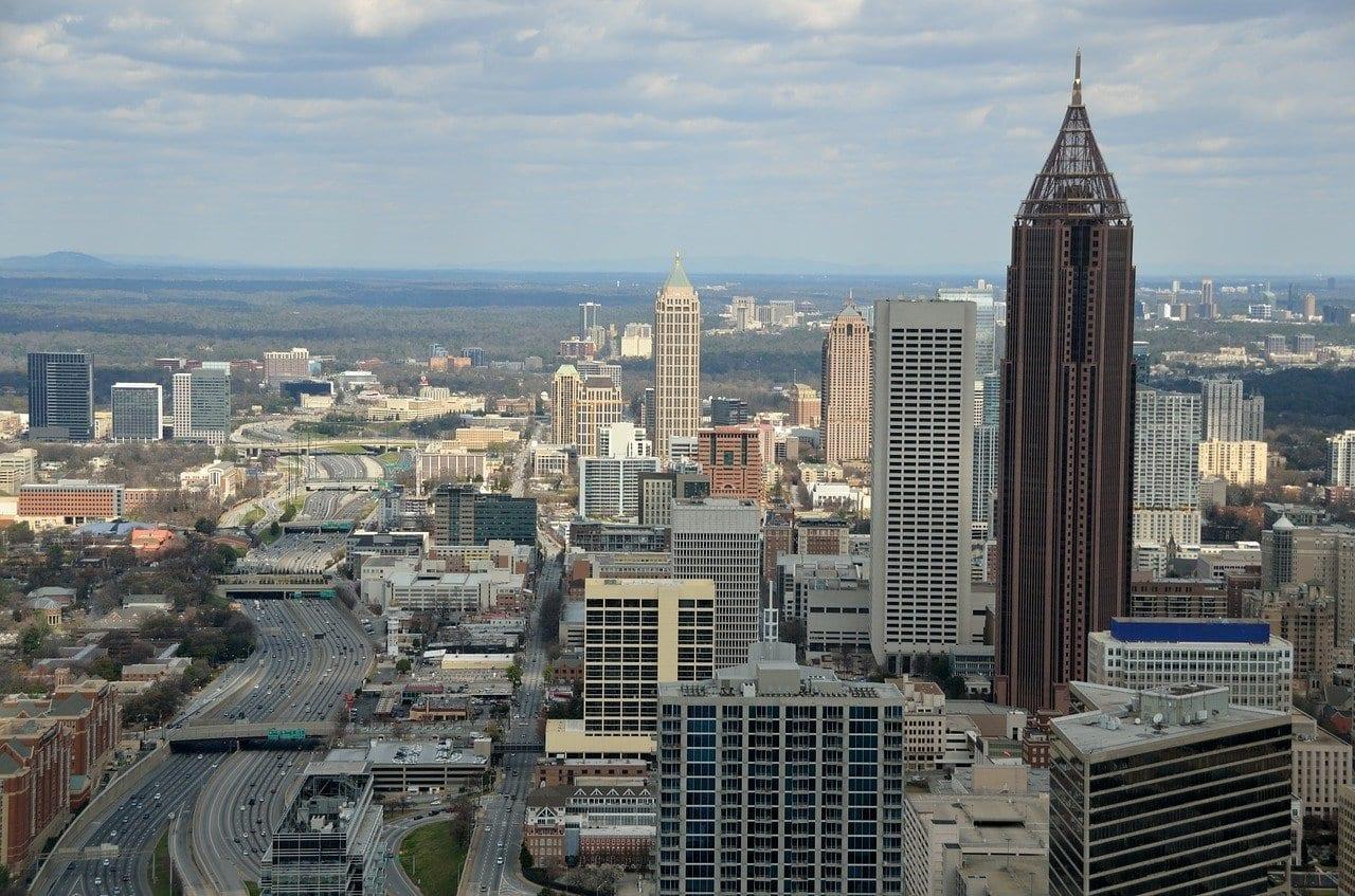Atlanta Georgia Ciudad Estados Unidos