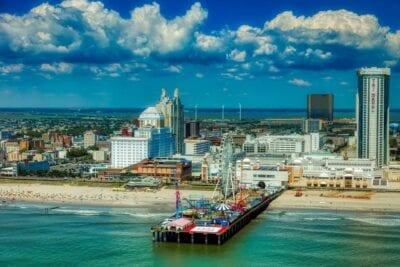 Atlantic City Nueva Jersey América Estados Unidos