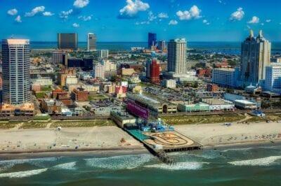 Atlantic City Nueva Jersey Ciudad Estados Unidos