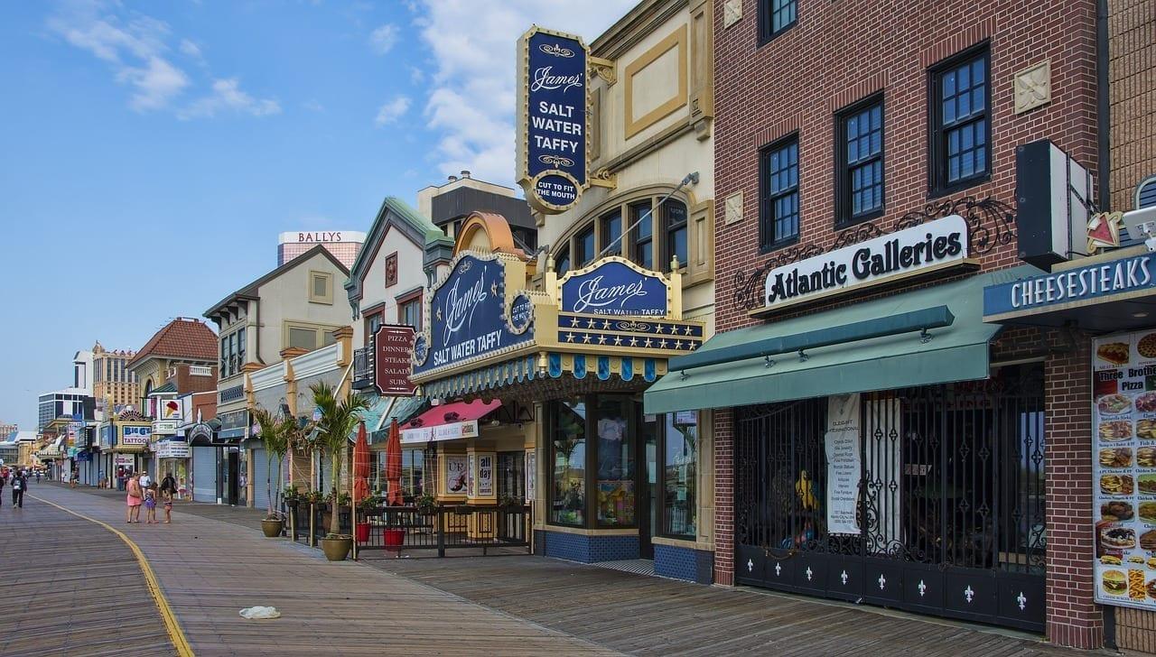 Atlantic City Paseo Marítimo Nueva Jersey Estados Unidos