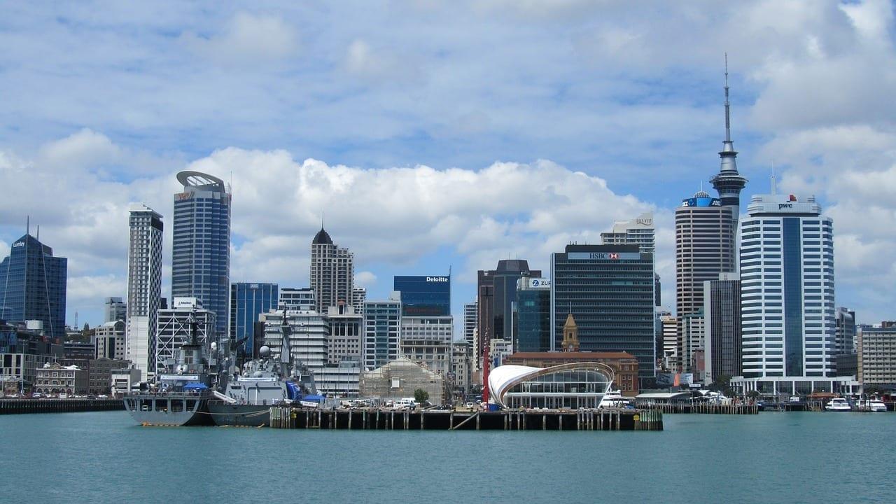 Auckland Nueva Zelanda Ciudad Nueva Zelanda
