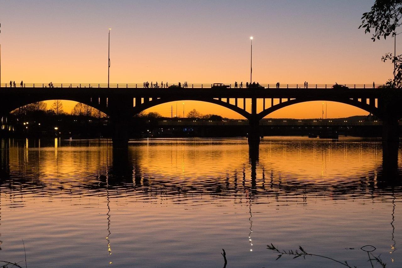 Austin De Texas Puente Estados Unidos