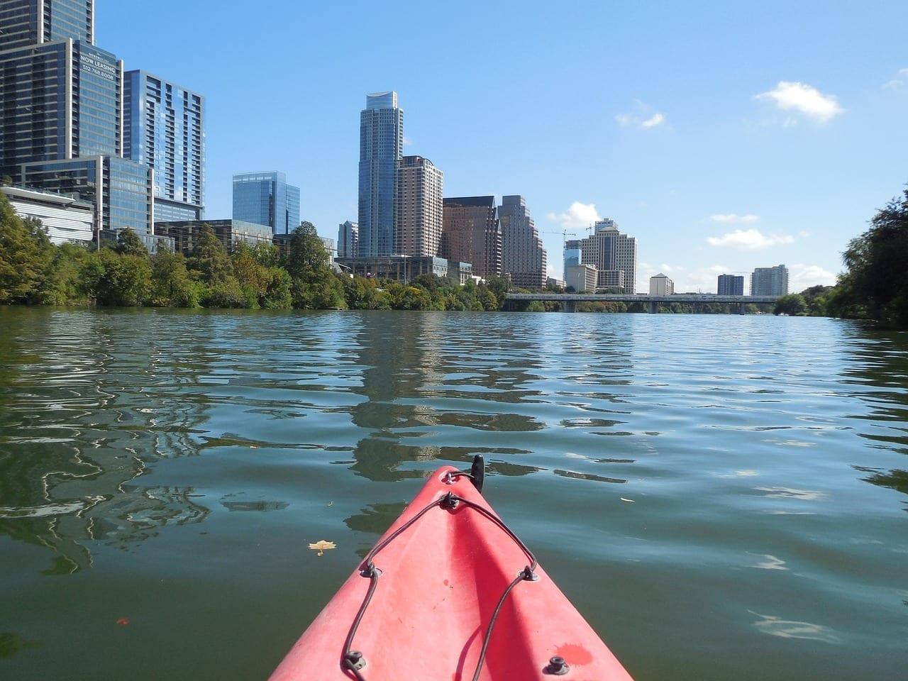 Austin Río Kayak Estados Unidos