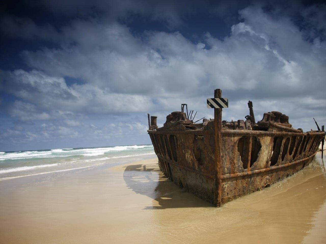 Australia Fraser Island Mar Australia