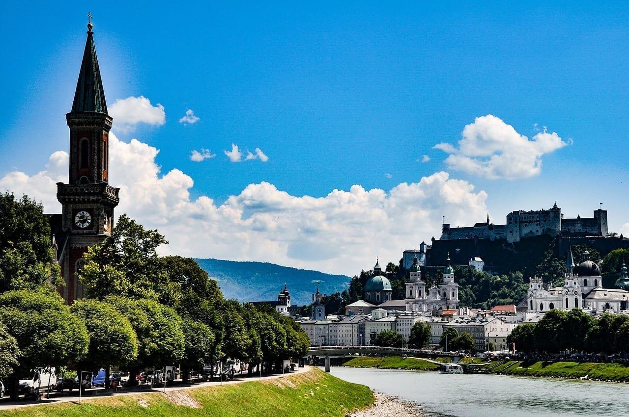 Austria Salzburgo Ciudad Austria