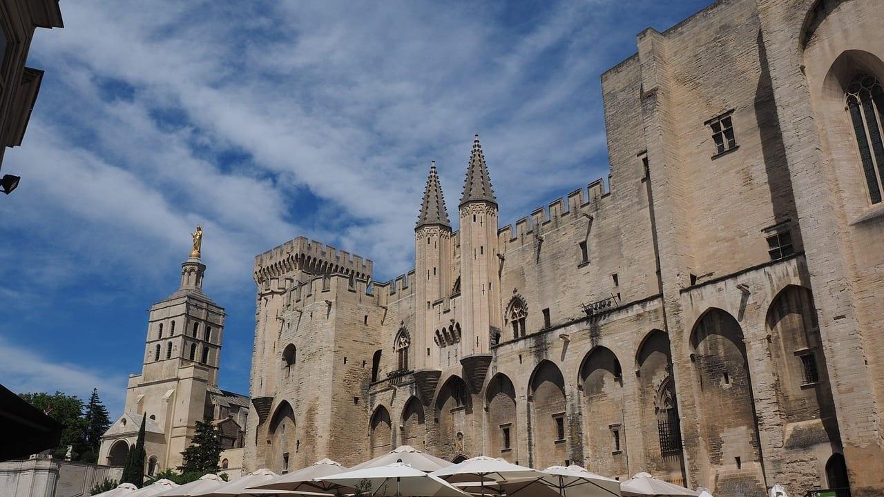 Avignon Palais Des Papes De La Ciudad Francia