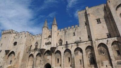 Avignon Palais Des Papes La Construcción De Francia