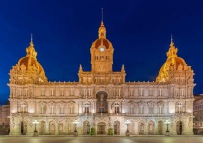 Ayuntamiento (City Hall) A Coruña España