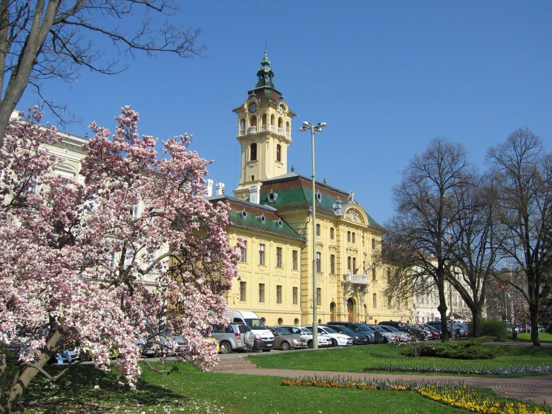 Ayuntamiento de Szeged Szeged Hungría