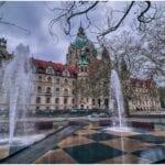 Ayuntamiento Hanover Baja Sajonia Alemania