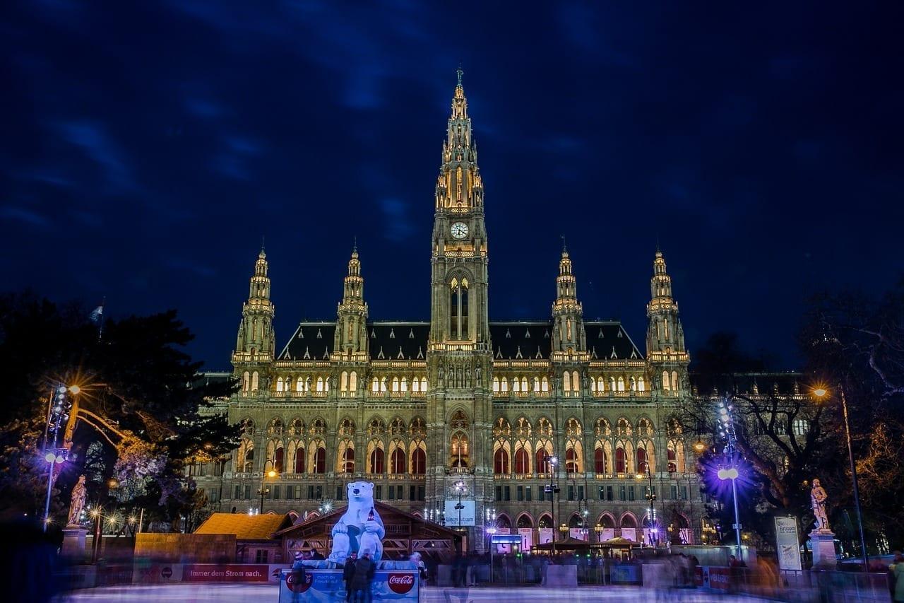 Ayuntamiento Viena Plaza Del Ayuntamiento Austria