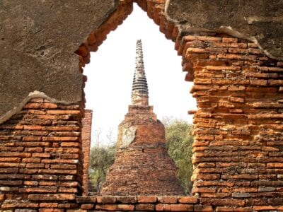 Ayutthaya Tailandia Origen étnico Tailandia