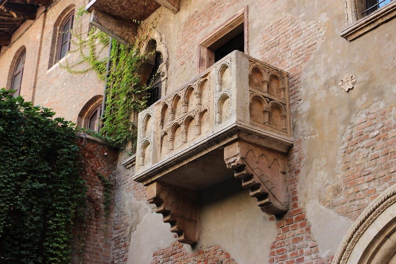 Balcón Verona Veneto Italia