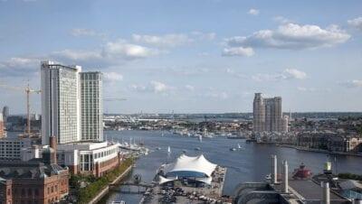 Baltimore Puerto Océano Estados Unidos