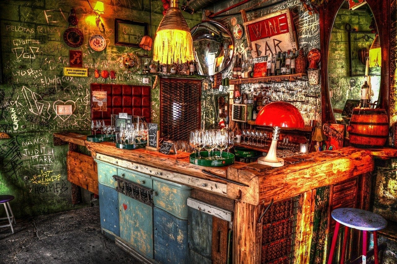 Bar Budapest Ruina Hungría
