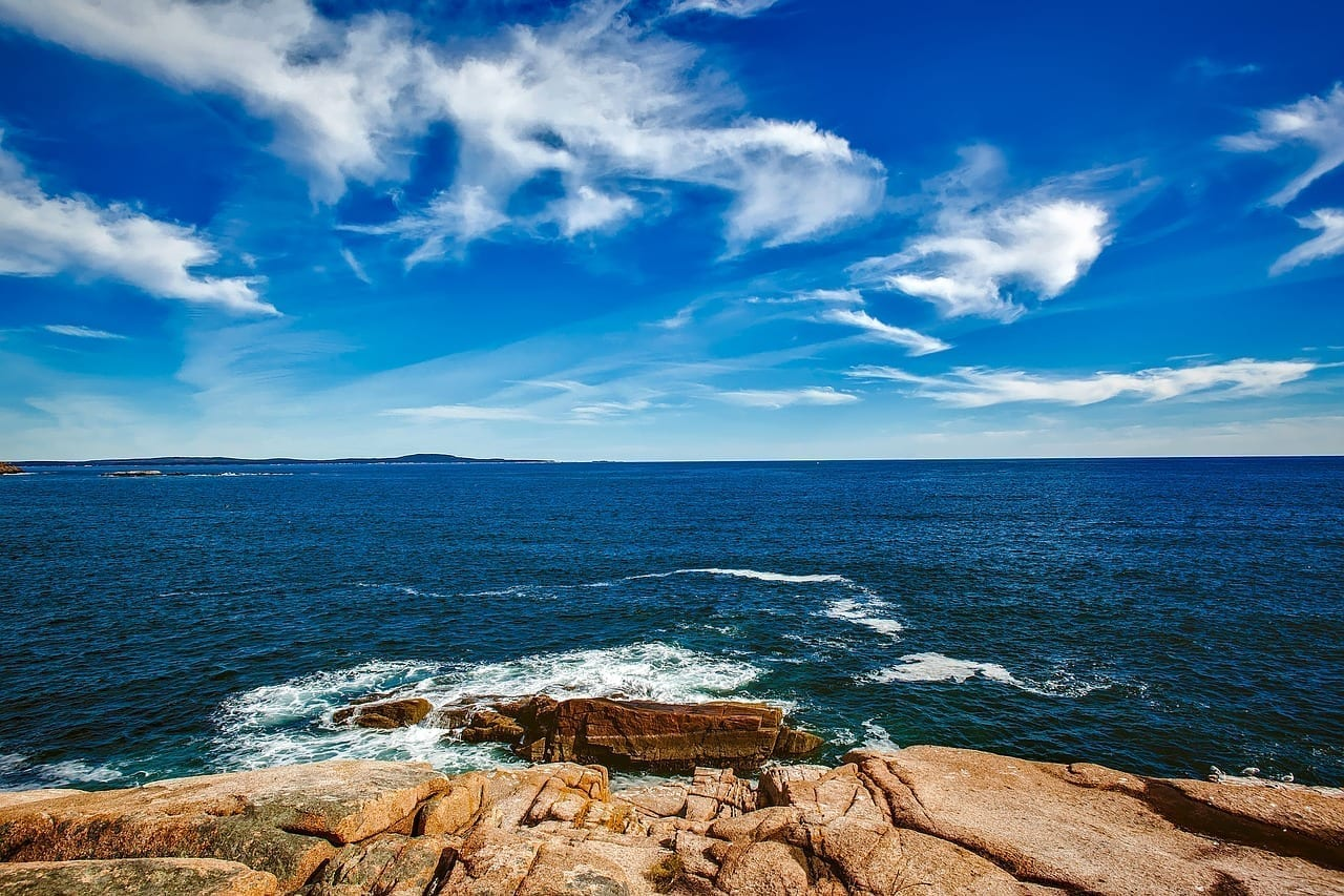 Bar Harbor Maine Cielo Estados Unidos