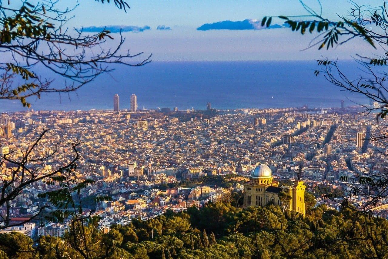 Barcelona Vistas Cataluña España