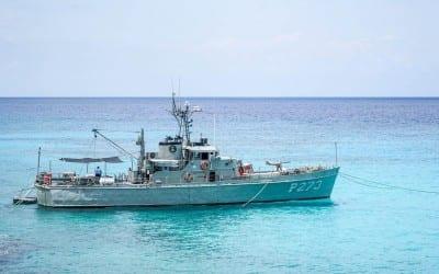 Barco Cozumel Mar México