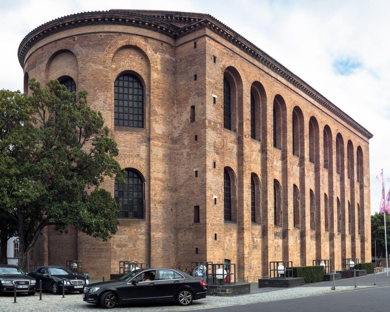 Basílica de Constantino Tréveris Alemania