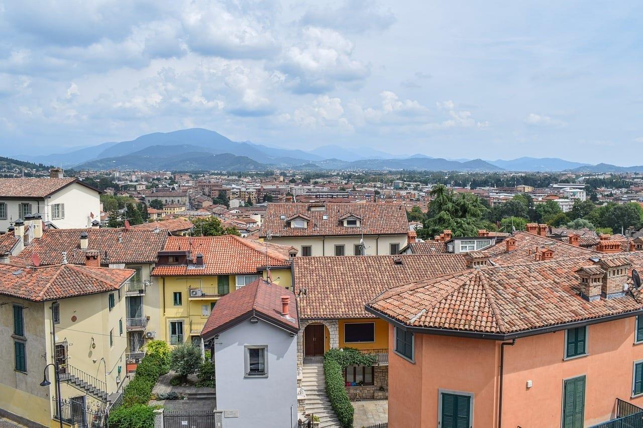 Bergamo Ciudad Italia Italia