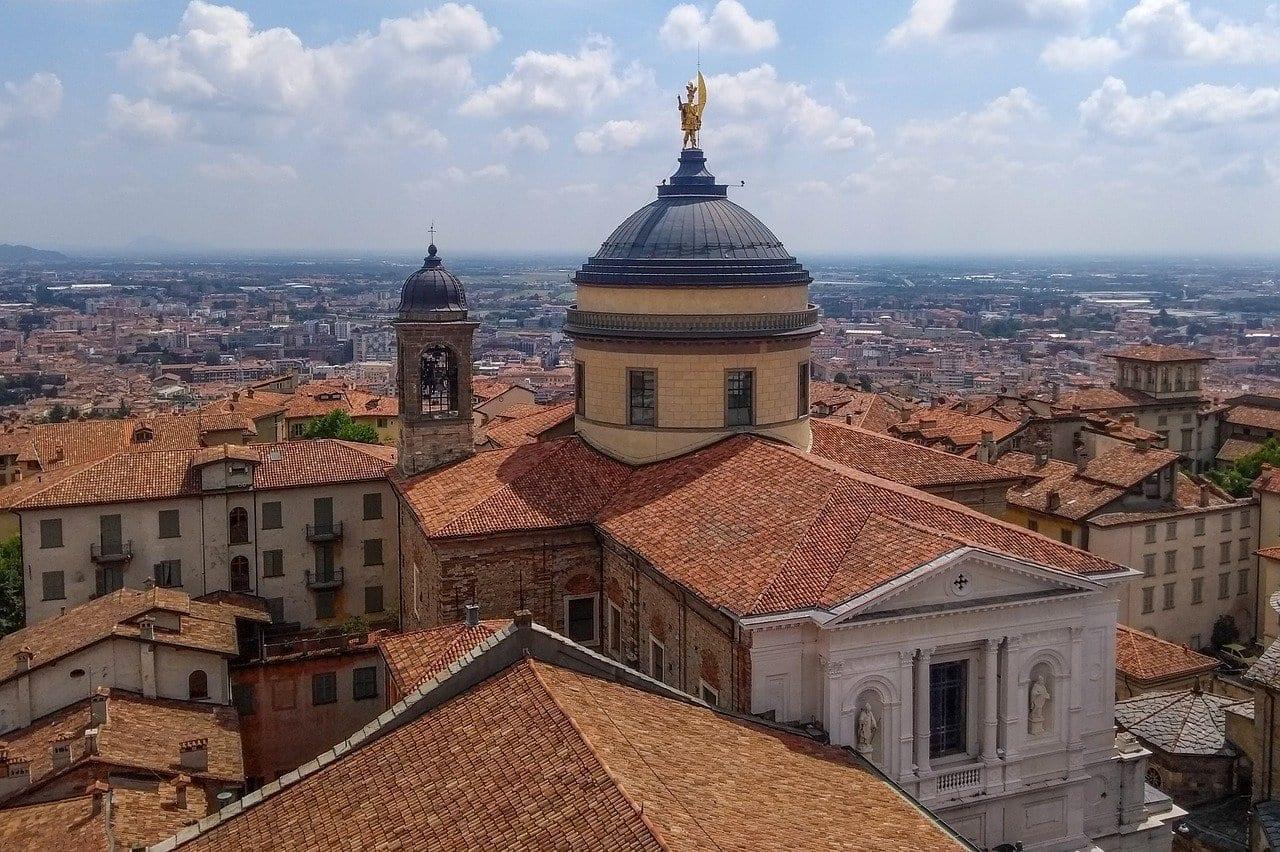Bergamo Cultura Arquitectura Italia